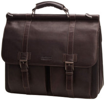Kenneth Cole Reaction Mind Your Own Business Laptop Case Brown