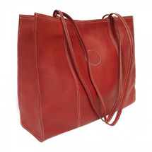 Piel Leather Computer Bag Mini-Roller 2101 - Red