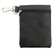 Piel Leather Valuable Pouch 2031 - Black