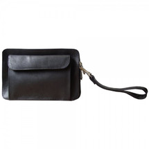 Piel Leather Organizer Bag 2290 - Black