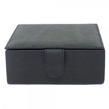 Piel Leather Small Leather Gift Box 2351 - Black