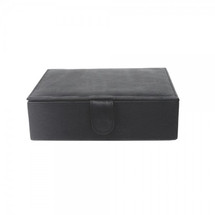Piel Leather Large Leather Gift Box 2352 - Black