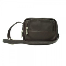Piel Leather Traveler's Camera Bag 2296 - Chocolate