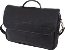 Edmond Leather Mid-Size Business Portfolio (Black)