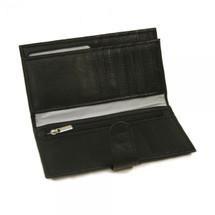 Piel Leather Multi-Card Wallet 2857 - Black1