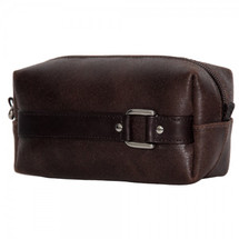 Piel Leather Vintage Travel Kit 2986 - Vintage Brown