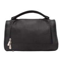 Piel Leather Half-Moon Utility Kit 9138 - Black
