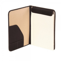 Piel Leather Letter-Size Padfolio 9238 Inside