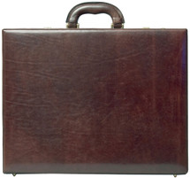 Maxwell Scott The Strada Expandable Leather Attache Case