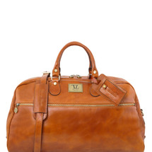 Tuscany Leather TL Voyager Travel Bag Duffle TL141422 (Honey)