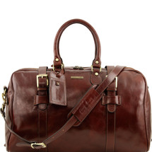 Tuscany Leather TL Voyager Travel Bag Duffle TL141248 (Brown)