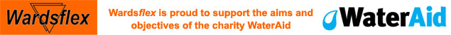 Wardsflex is proud to support the aims and objectives of the charity WaterAid