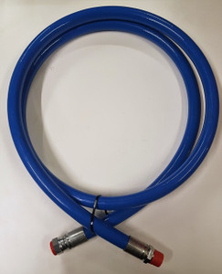 "Blue Safety Leader Hose 3/4"" BSP m/fm Connections 3m long"