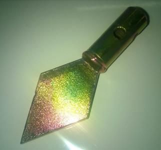 Diamond Shaped Spearhead for 5mm Steelkane Rods