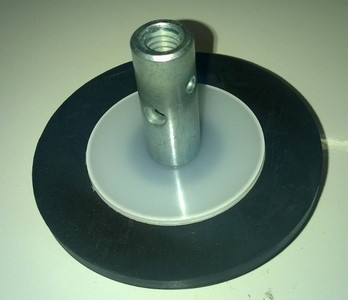 100mm Rubber Plunger for 5mm Steelkane Rods