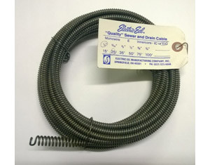 "25' x 1/4"" (7.5m x 6.5mm) Expanded End with Inner Core 1/4EIC25"