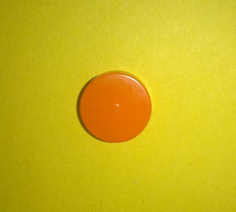 A single Orange burst disc