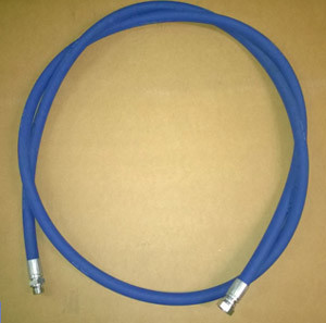 "Blue Safety Leader Hose ½"" BSP Connections 3m Long"