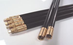 Poly Rod (Black) Lockfast - 3' long x 19 mm