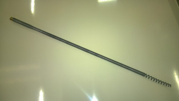 Flexible Coiled Spring Leading Rod for use with Universal Rods