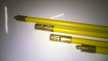 """Ferret fitting PVC duct rod - 2m x 15/16"""" diameter (BT Ref: No. 2)"""
