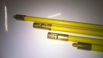 """Ferret fitting PVC duct rod - 3m x 15/16"""" diameter (BT Ref: No. 1)"""