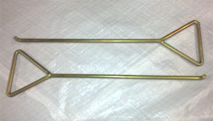 460mm Tall x 10mm Side Entry Hand Keys