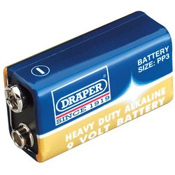 Heavy Duty 9v PP3 Battery (1 Pack)