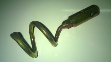 50mm Single Worm Screw for 6mm Steelkane Rods