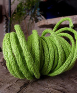 """AK-Trading Decorative Jute Wired Rope 1/4"""" X 9 Yards (Apple Green)"""