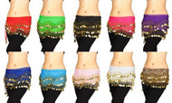 Lot of 12 Belly Dancing Hip Scarf