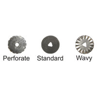 3-Way Rotary Cutter Replacement Blades (6/Pkg)