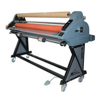 "RSC-1402CW 55"" Cold Roll Laminator with Rear Winder"