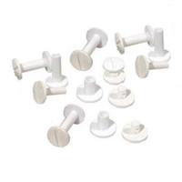 Fastin™ Poly Binding Posts & Screws (White)