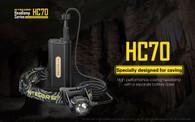 Nitecore HC70 1000 lumens rechargeable headlamp