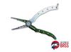 Kahara Aluminum Pliers Green/Silver 6.5 Inch