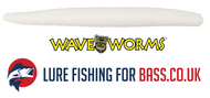 Wave Worm White Back In Stock (Senko Killers)