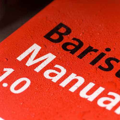 Barista Manual 1.0 - Paperback Version