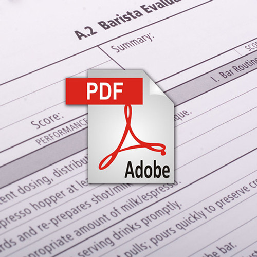 Barista Manual 1.0 - PDF Version