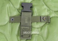 Back Strap for the Ontario M9 Bayonet - Green Color - Genuine - NEW - USA Made