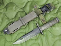 Lan-Cay M9 Bayonet with Scabbard - Late Model 2001 - Genuine Military - USA Made (12810)