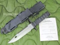 Phrobis M9A1 - Rare 1st Generation Trials Bayonet with Scabbard and Manual - Black - USA Made (13584)