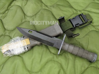 Lan-Cay M9 Bayonet with Scabbard - Unissued Late Model 2005 - Genuine Military - USA Made (13029)