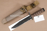 Ontario USMC OKC-3S Bayonet with Scabbard - Commercial Model - USA Made (15175)