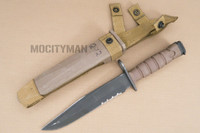 Ontario USMC OKC-3S Bayonet with Scabbard - Genuine Military - USA Made (16816)