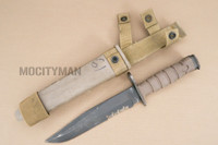 Ontario USMC OKC-3S Bayonet with Scabbard - Genuine Military - USA Made (16853)