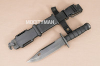 Lan-Cay M-11 EOD Knife with Scabbard - Black - 2001 Model - USA Made (15185)