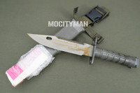 LanCay M9 Bayonet with Scabbard - Uncommon Rare First Contract Model 1995 - Unissued - Genuine Military - USA Made (20670)