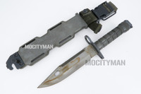LanCay M9 Bayonet with Scabbard - Early Model 1992 - Unissued - Genuine Military - USA Made (20919)