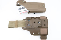 Safariland 6004SS Holster and Shroud For Colt USMC MARSOC M45A1 CQCP Pistol With X200 Light - Right Hand -  USA Made (19410)